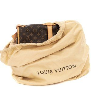 LOUIS VUITTON Large Drawstring Dust Bag